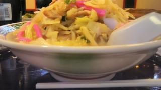 二日市温泉の中華料理店の福龍のちゃんぽんが安くて美味しい