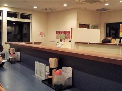 らーめん屋鳳凛(ほうりん)筑紫野店の店内
