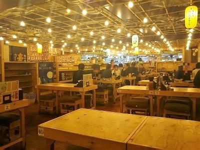 大阪満マルの西鉄二日市駅前店の料理の感想