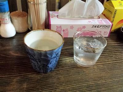 たこやき亭の270円の焼酎