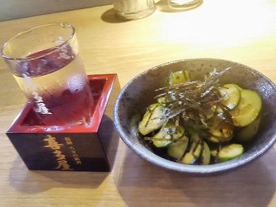 無量庵Diningで日本酒とアテ