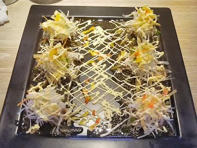無量庵Diningの名物 カジキマグロのカルパッチョ