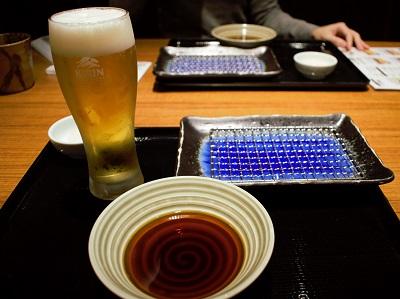那かむらの天ぷらセッティング