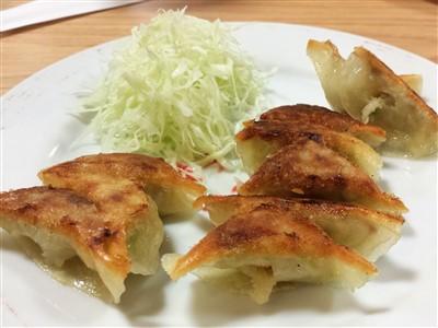 餃子の店の旭軒駅前本店の焼き餃子2