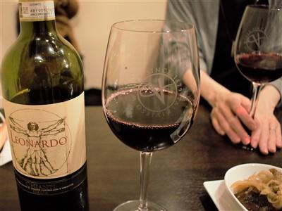 二日市Pino(ピノ)で赤ワインボトル