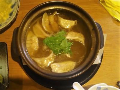 居酒屋さかえのスープ餃子