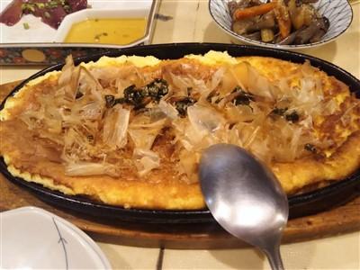 やきとり武蔵の山芋ステーキ1