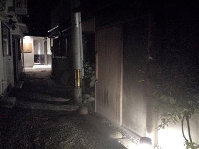 池田屋の入り口