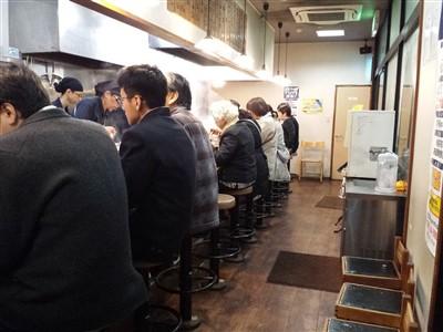 博多ラーメン膳の座席