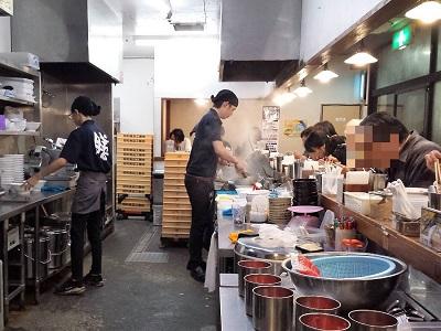 博多ラーメン膳の店内の雰囲気