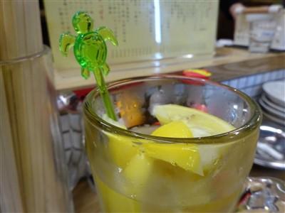 酒処あかりの最強レモンサワー2