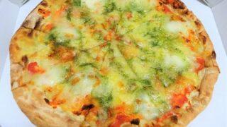 ガストのテイクアウト半額ピザのマルゲリータ
