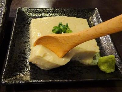 晩彩の手作りカニミソ豆腐2