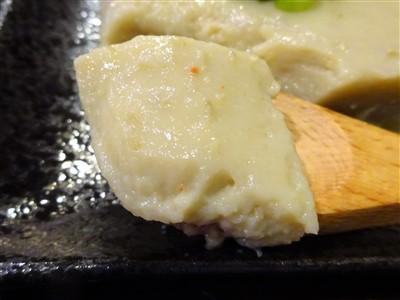 晩彩の手作りカニミソ豆腐3