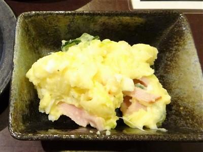 晩彩のお通しの玉子サラダ