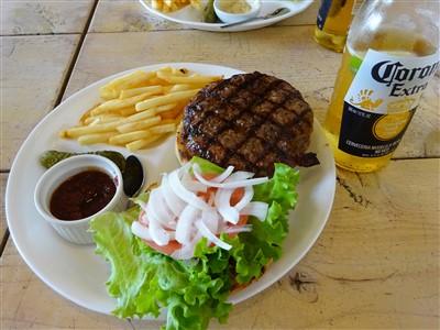 キングサイズのハンバーガー